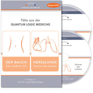 DVD – Fälle aus der Quantum Logic Medicine: Der Bauch / Herz & Lunge
